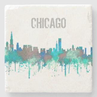 Porta Copos De Pedra Skyline-SG-Selva de Chicago Illinois