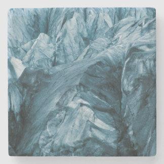 Porta Copos De Pedra Teste padrão abstrato na geleira | Islândia