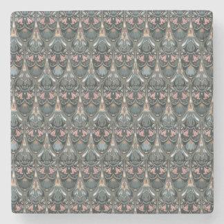 Porta Copos De Pedra Teste padrão militar da cor do squama luxuoso