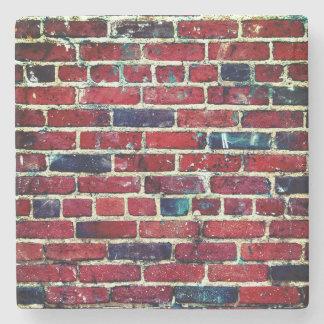 Porta Copos De Pedra Textura legal da parede de tijolo