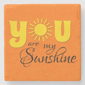 Porta Copos De Pedra Você é meu texto da luz do sol
