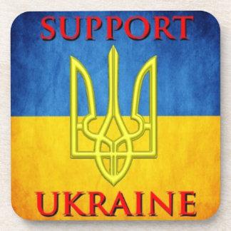 Porta copos de Tryzub do ucraniano do apoio