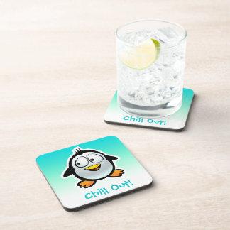 Porta-copos Desenhos animados legal personalizados do pinguim