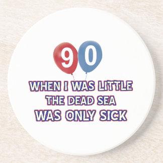 Porta-copos Design do aniversário do Mar Morto das pessoas de