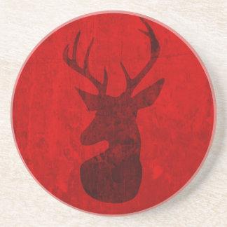 Porta-copos Design do veado vermelho
