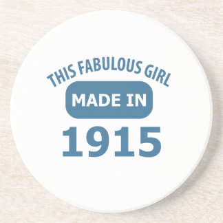 Porta-copos Design fabuloso das pessoas de 1915 anos