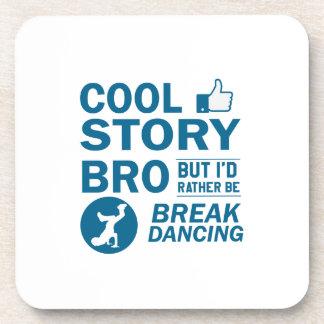 Porta Copos Design legal da dança de ruptura