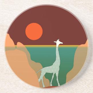 Porta-copos Design original do girafa