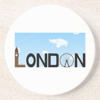 Porta-copos Dia da skyline de Londres