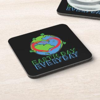 Porta-copos Dia da Terra: Mantenha o verde & o reciclado da