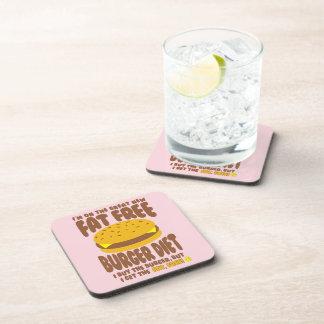 Porta Copos Dieta livre de gordura do hamburguer
