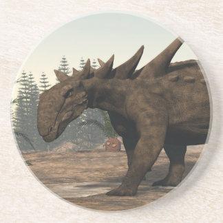 Porta-copos Dinossauro de Sauropelta - 3D rendem