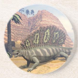Porta-copos Dinossauro do Edaphosaurus - 3D rendem