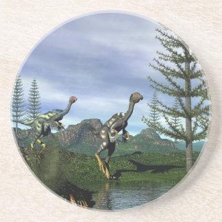 Porta-copos Dinossauros de Caudipteryx - 3D rendem
