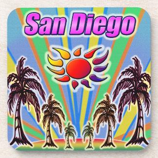 Porta copos do amor do verão de San Diego