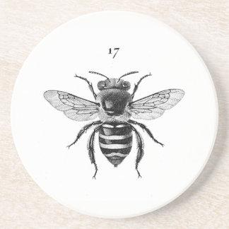 Porta copos do arenito da abelha 17