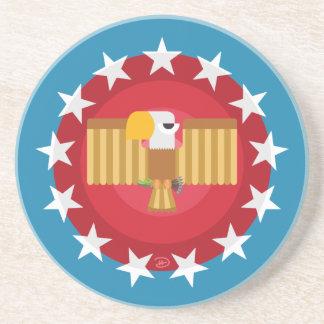 Porta copos do arenito de Eagle da liberdade