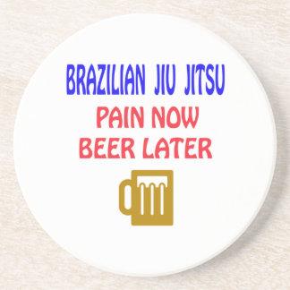 Porta-copos Do brasileiro de Jiu Jitsu da dor cerveja agora