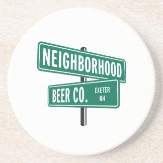 Porta copos do Co. da cerveja da vizinhança