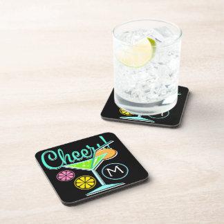 Porta copos do cocktail