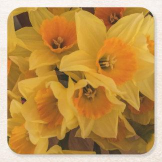 Porta copos do Daffodil Porta-copo De Papel Quadrado