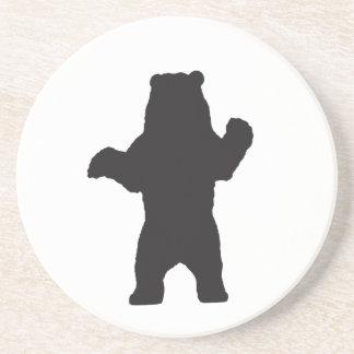Porta copos do urso preto