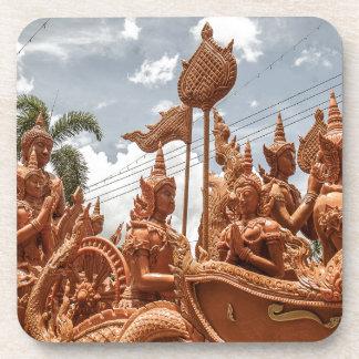 Porta copos do viagem do festival da vela de Ubon