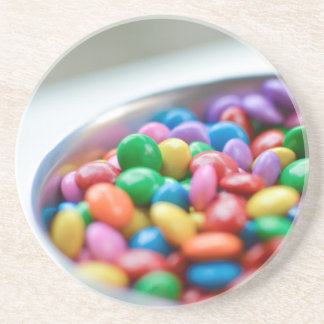 Porta-copos doces coloridos