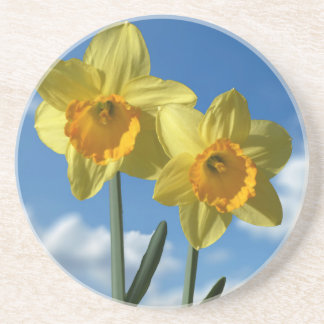 Porta-copos Dois Daffodils amarelos 2,2