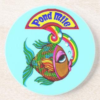 Porta copos dos peixes da milha da lagoa
