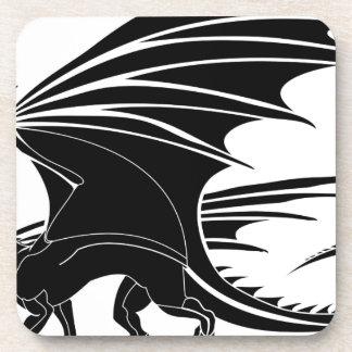 Porta-copos Dragão irritado