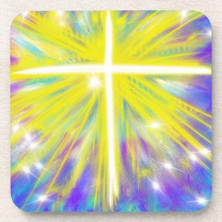 Porta-copos É design cristão aumentado da arte moderna da