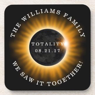 Porta-copos Eclipse solar da totalidade da família