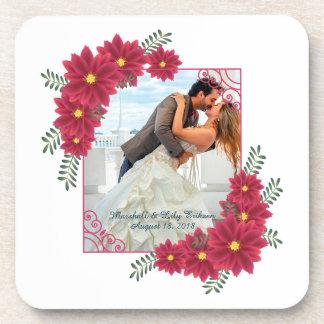 Porta-copos Elegante adicione sua própria foto que Wedding a