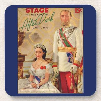 Porta-copos Em abril de 1939 capa de revista do palco