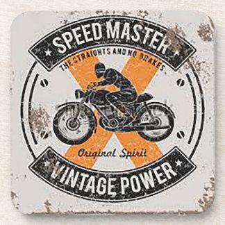Porta-copos Emblema de Speedmaster do vintage