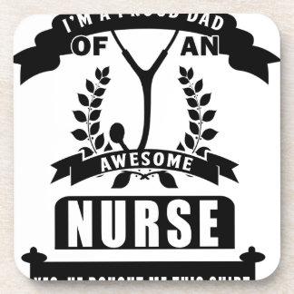 Porta Copos enfermeira e pai