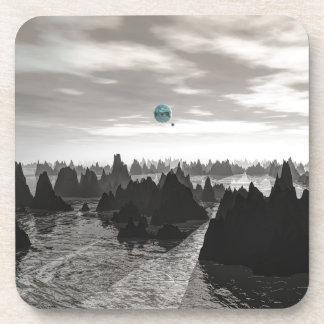 Porta Copos Esferas azuis misteriosas