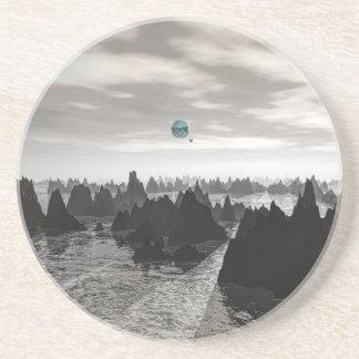 Porta-copos Esferas azuis misteriosas