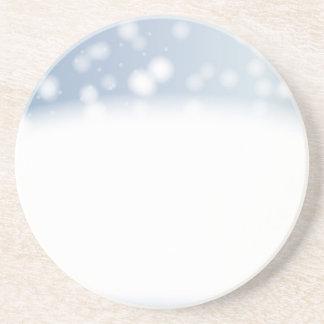 Porta-copos Espaço da cópia da neve