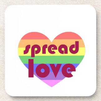 Porta Copos Espalhe o amor alegre