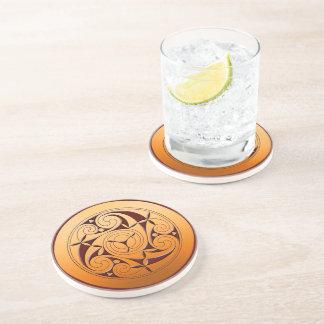 Porta-copos Espiral celta
