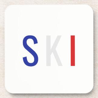 Porta-copos Esqui