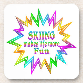 Porta Copos Esquiando mais divertimento
