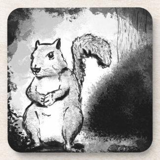 Porta Copos Esquilo manchado de tinta