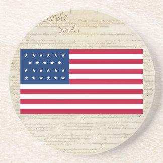Porta-copos Estados Unidos 23 Star a bandeira