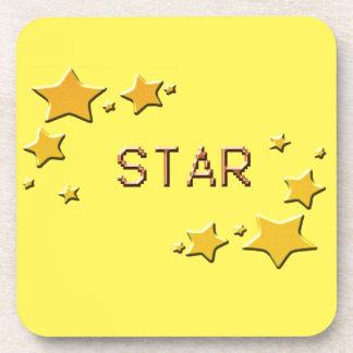 Porta-copos estrelas
