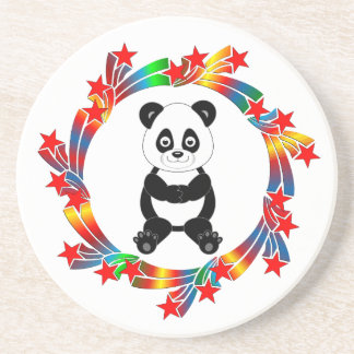 Porta-copos Estrelas da panda