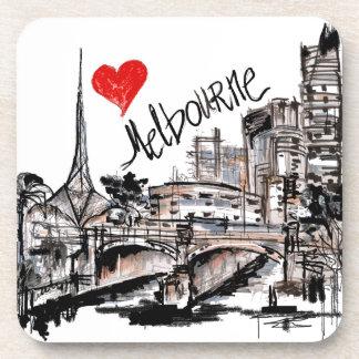 Porta Copos Eu amo Melbourne