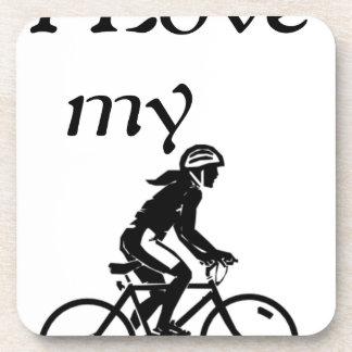 Porta Copos Eu amo minha bicicleta
